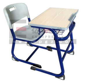 MDF Classroom Desk Chair for Student Study Furniture pictures & photos