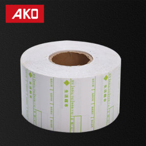 Supermarket Waterproof Thermal Coated Layer Self Adhesive Label Paper Roll pictures & photos