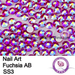 Ss20 Fuchsia Ab Rhinestone Glass Flat Back Rhinestone (FB-ss20 fuchsia ab) pictures & photos