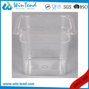 Hot Sale Certificate BPA Free Restaurant Kitchen Transparent Plastic 1/3 Size Dripping Tray pictures & photos