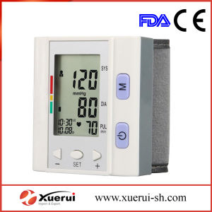Wrist-Type Fully Electronic Medical Blood Pressure Monitor pictures & photos