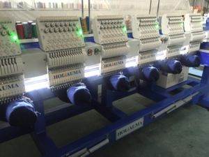 Flat Cap Embroidery Machine Type and Six Heads Household Embroidery Machine Quality Domestic New Condition Cap Embroidery Machine pictures & photos
