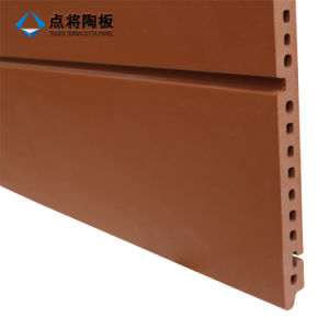Ventilated Facade Rainscreen 18mm Terracotta Panel with Fixation Accessories pictures & photos