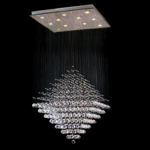 Diamond Shape High Quality Crystal Chandelier (GD-8013-12) pictures & photos