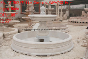 White Cararra Stone Sculpture Marble Fountain   (SY-F743) pictures & photos