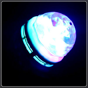Hot Selling Mini LED Magic Crystal Chirstmas Disco Light Ball pictures & photos