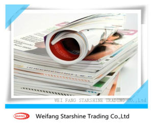 60g Light Weight Coated Paper Vibrant Color Printing