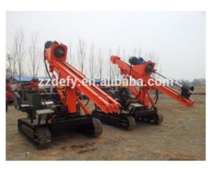 Dfr-7c Crawler Mounted Diesel Pile Hammer for Solar Energy, Photovoltaic PV System pictures & photos