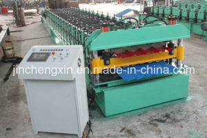 Customized Double Layer Roof Tile Roll Forming Machine pictures & photos