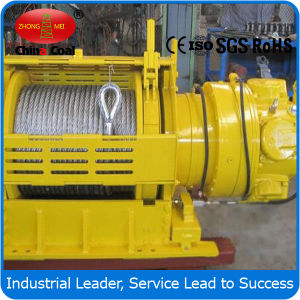 High Quality Jqhs-50* 12 50kn Pneumatic Winch for Oil Field pictures & photos