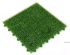 Artificial Grass Mat PE Joint Grass Mat pictures & photos