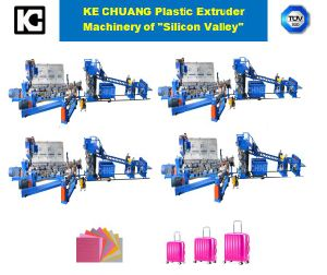 Professional Sheet Plastic Exdrusion Machine Line for PC/ABS/PP/PE Luggage pictures & photos