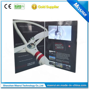 Hot LCD Business Video Book Video Flyer