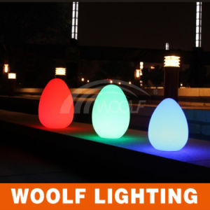 LED Plastic Outdoor Decorative LED Egg Light pictures & photos