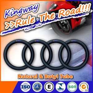 Natural Rubber and Butyl Motorcycle Inner Tube 110/90-16 pictures & photos