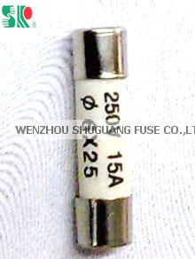 250V Low Voltage Little Fuse Cylindrical Cap 6x25 pictures & photos