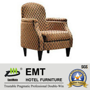 Wooden Frame Hotel Leisure Chair (EMT-016) pictures & photos