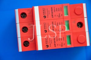 PV Application Solar 3p SPD/Surge Protector (GA754-09) pictures & photos