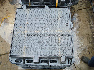 En124 D400double Triangle Manhole Cover for Telecom