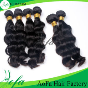 2016 New Natural Unprocessed Brazilain Virgin Human Hair pictures & photos