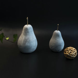 New Hot Cement Pear Decoration pictures & photos