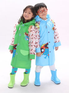 Sunglass Frog Long Style Rainwear