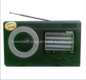 FM/AM/SW1-2 4 Band Radio Receiver (BW-5430)