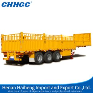 Hot Sale 3axle Fence Stake Semi Trailer China Best Warehouse Storage Goods Trailer pictures & photos