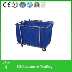 Professional Laundry Cart, Laundry Plants Use Firm Laundry Trolley (C30) pictures & photos
