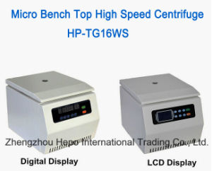 Egypt Popular Micro Bench Top High Speed Centrifuge (HP-TG18WS) pictures & photos