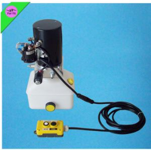 6-12tons 12V 21MPa Power Pack Remote Electric Pump Hydraulic Cylinder