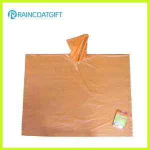 Clear PE Disposable Rain Ponchos Rpe-049 pictures & photos