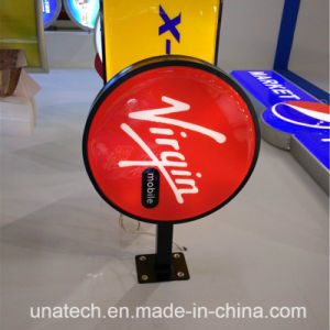 Outdoor Wall Mounted Round Square Oval Rectangular LED Vacuum Formed Plastic Light Box pictures & photos