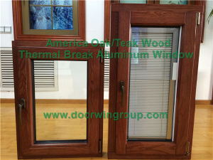 Wood Trim & Architraves for Solid Wood Aluminum Casement Window, Casement Window with Most Advanced Welding Technology pictures & photos