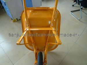 Nigeria Wb200-2 Building Wheelbarrow Without Wheel for Africa Construction pictures & photos