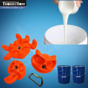 RTV Silicon Rubber for Moulding Baby Rock Climbing Stones pictures & photos