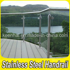 Stainless Steel Glass Balcony Railing with Good Designs pictures & photos