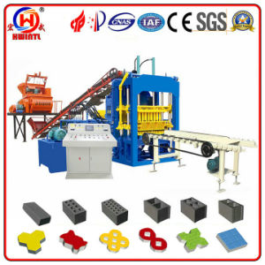 Qt4-15D Fully Automatic Interlocking Brick Making Machine