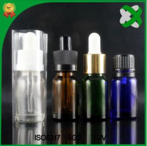 Glass Dropper Bottle Amber Essential Oil Bottle Brown Glass Bottle pictures & photos