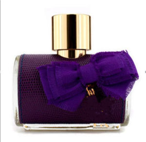 Lady′s Glass Perfume Purple Bottle pictures & photos