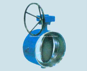 Butt Welded Metal Sealing Butterfly Valve
