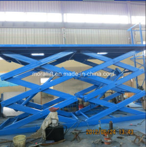 Hot Sale Stationary Scissor Lift Table pictures & photos