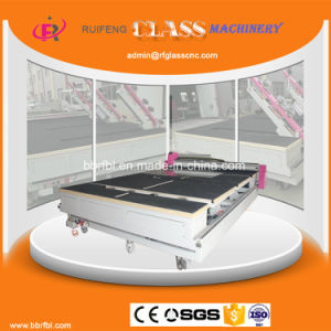 Full Automatic CNC Glass Cutter Machinery (RF3826AIO) pictures & photos