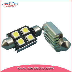 C5w 5050 Festoon 6SMD Canbus LED Bulb pictures & photos