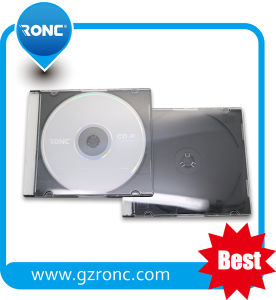 Transparent CD Jewel Case with Black Tray pictures & photos
