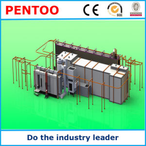 High Quality Powder Coating Equipment Electrostatic Painting Line pictures & photos