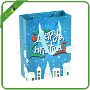 Decorative Printed Paper Christmas Gift Bag pictures & photos