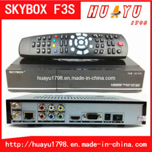 Newest Original Skybox F3s Satellite Receiver Software Download 1080P Receiver Support GPRS Skybox F3s
