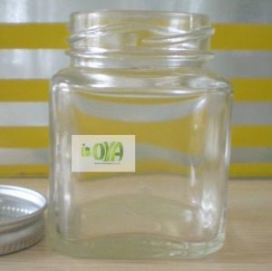 100ml Clear Tetragonum/Square Glass Honey/Jam Jar/Bottle pictures & photos