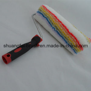 25cm 18mm Elitacolor Soft (rainbow stripe)) Acrylic Paint Roller Cover with Soft Handle pictures & photos